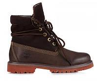 Женские ботинки Тимберленд original Bandits Brown коричневые оригинал 39