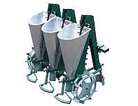"""Сажалка для чеснока 3М """"Ярило"""" с бункерами для удобрений (3-рядная, для мотоблока)"""