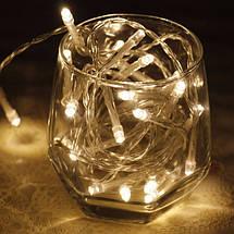 Новогодняя гирлянда 500 LED, 34M, Прозрачная проволока, фото 3