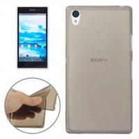 Чохол-накладка для Sony Xperia Z1 С6902, C6903, ультратонкий силіконовий, прозорий /case/кейс /соні