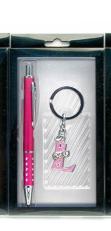 Ручка с брелоком набор (17,5х9х2 см) 23665