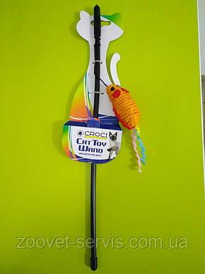 Игрушка для кота дразнилка мышь сизаль CROCI С6098087, фото 2