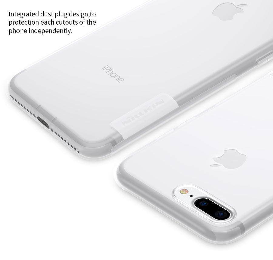 TPU чехол Nillkin Nature Series для Apple iPhone 7 plus   8 plus (5.5
