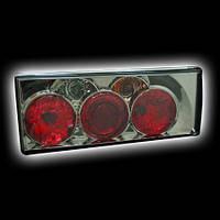 Задняя тюнинговая оптика LADA 2108/99 тонированный/хром