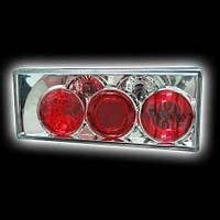Задняя тюнинговая оптика LADA 2108/99 прозрачный/хром