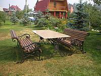 Кованый набор садовой мебели, ручная работа