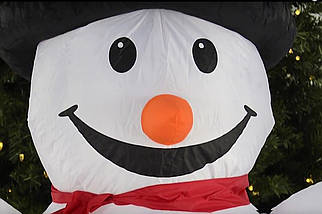 Надувной Снеговик 1,8 M, фото 3