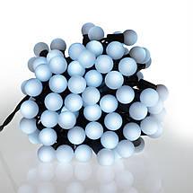 Новогодние шарики 100LED,  белый холодный свет, фото 3