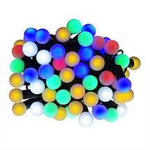 Новогодние шарики 100LED, Разноцветный свет, фото 2