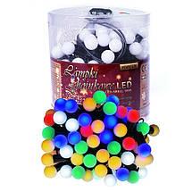 Новогодние шарики 100LED, Разноцветный свет, фото 3
