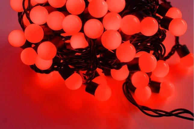Новогодняя гирлянда 100 LED / 10 м, Красный свет, фото 2