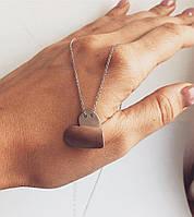 Кулон из серебра Мої прикраси сердечко, фото 1