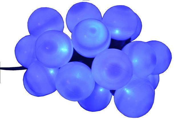 Новогодняя гирлянда 20LED, Длина 4m, Синий свет, фото 2