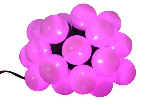 Новогодняя гирлянда 20LED, Длина 4m, Фиолетовый свет, фото 2