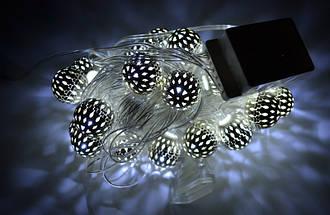 Новогодняя гирлянда 30 LED, Белый холодный свет, 5,8 м, фото 2