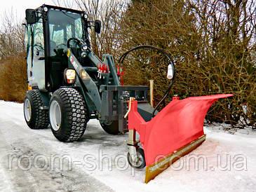 Отвалы (плуги, снегоуборочные) для фронтальных (вилочных) погрузчиков