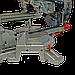 Настольная выдвижная торцовочная пила ЗТП-255/2300 профи, фото 4
