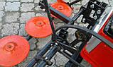 """Косилка роторная КР-06 """"ШИП"""" для мототрактора (под гидроцилиндр без ремня), фото 9"""