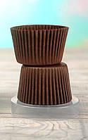 Цветные формочки для кексов, коричневые, 100 шт, фото 1