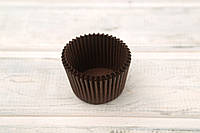 Цветные формочки для кексов, коричневые (45*35), 1000 шт