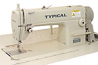 Одноигольная швейная машина дополнительным игольным продвижением материала Typical GC6160