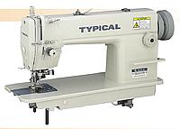 Высокоскоростная 1-игольная машина челночного стежка с боковым ножом для обрезки края материала Typical GC6170