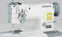 Швейная машина двухигольная с дополнительным игольным продвижением материала Typical GC6240M