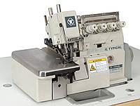 Швейный оверлок высокоскоростной 2-игольный пяти ниточный стачивающее-обметочный Typical GN3000-5H