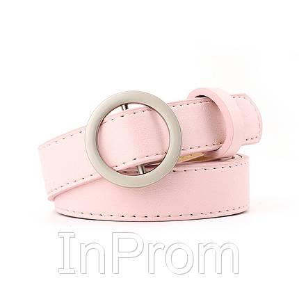 Ремень Aliss Сircle Pink, фото 2
