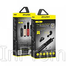 Беспроводные наушники Awei T5 Black, фото 3