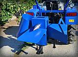 """ИЗМЕЛЬЧИТЕЛЬ ВЕТОК """"Премиум"""" для трактора (с конусом, трехточ. крепл., 1-ст. заточка ножей, до 50мм), фото 5"""