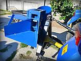 """ИЗМЕЛЬЧИТЕЛЬ ВЕТОК """"Премиум"""" для трактора (с конусом, трехточ. крепл., 1-ст. заточка ножей, до 50мм), фото 6"""
