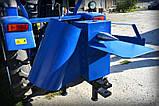 """ИЗМЕЛЬЧИТЕЛЬ ВЕТОК """"Премиум"""" для трактора (с конусом, трехточ. крепл., 1-ст. заточка ножей, до 50мм), фото 8"""