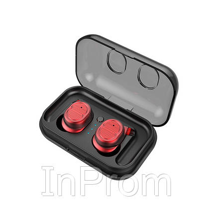 Беспроводные наушники Air Pro Touch Two TWS-8 Red, фото 2