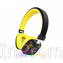 Bluetooth-наушники Awei A760BL Yellow, фото 3