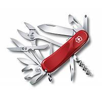 Victorinox Викторинокс нож Delemont Evolution S557 21 предметов 85 мм красный нейлон