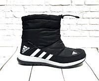 Дутики Adidas болонья черные AD0078