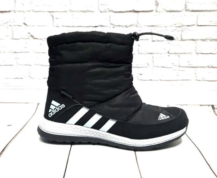 ffcec501 Дутики Adidas болонья черные AD0078, цена 1 050 грн., купить в ...