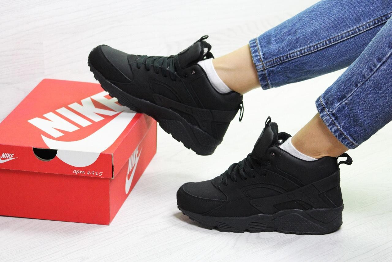b6902441 Женские зимние кроссовки Nike Huarache Кожа нубук : продажа, цена в ...