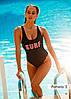Злитий польський купальник Madora Pamela., фото 2