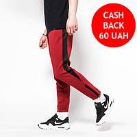 Штаны теплые мужские бордовые с белой полоской от бренда ТУР Рокки (Rocky)  размер XS 16959c808b7cb