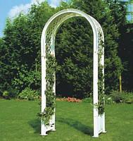 Садовая арка для вьющихся растений, белая HW-14