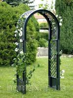 Садовая арка для вьющихся растений, зеленая HW-15