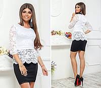 0fad2974901 Черное платье с белым кружевом в категории костюмы женские в Украине ...