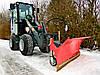 Отвалы (снегоотвалы, снегоочистетели) для снега, песка, на тракторы, фото 3