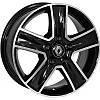 Литые диски Zorat Wheels BK473 R16 W6.5 PCD5x118 ET45 DIA71.1 BP