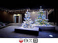 Новогодняя гирлянда Бахрома 500 LED, Голубой свет 24 м, фото 3