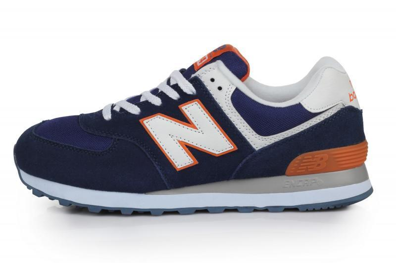 30ba7b47b Мужские кроссовки New Balance ML 574 BWO Нью Баланс ML 574 BWO синий  оригинал