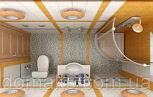 Дизайнерские задумки для ванной