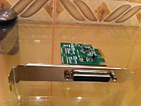 Контроллер DB25 LPT Printer to PCI-E PCI Express параллельный порт
